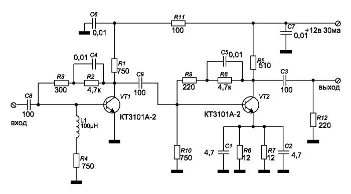 Как сделать усилитель для антенны телевизора своими 723